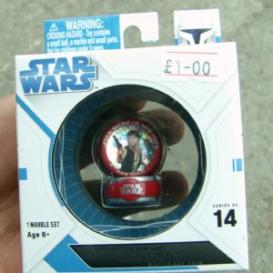 STAR WARS episode IV a new hope Han Solo Marble and base series 2 no-14 @SOLD@